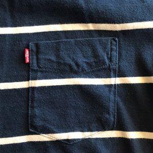 Levi's Shirts - Levi's Short Sleeve Shirt Striped with Pocket